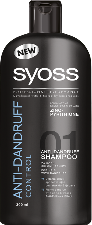ŠAMPON 300ml ANTI-DANDRUFF
