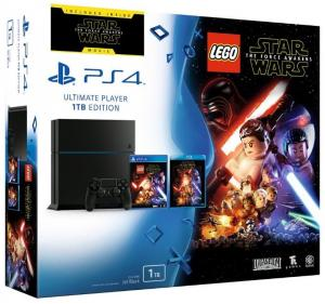 PS4 1TB C Chassis+Lgo star Wars Force Awekenes - crni