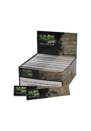 'Jass Brown' New Edition KS Natural Slim Papers