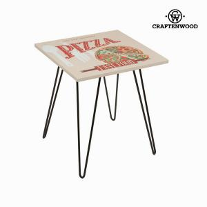 Kvadratni stol pizza bež by Craftenwood