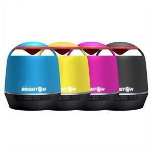Prijenosni Bluetooth Zvučnik BRIGMTON BAMP-609 3 W Črna Modra Rdeča Rumena