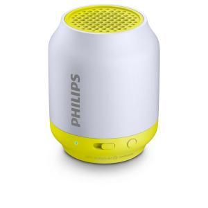 Prijenosni Bluetooth Zvučnik Philips BT50L/00 2W Siva Limun