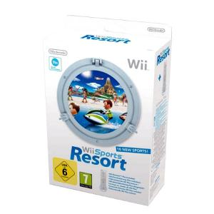 Wii Sports Resort + Wii Remote Plus Nintendo 2129366 Bela