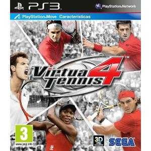 Virtua Tennis 4 (PS3) Sony