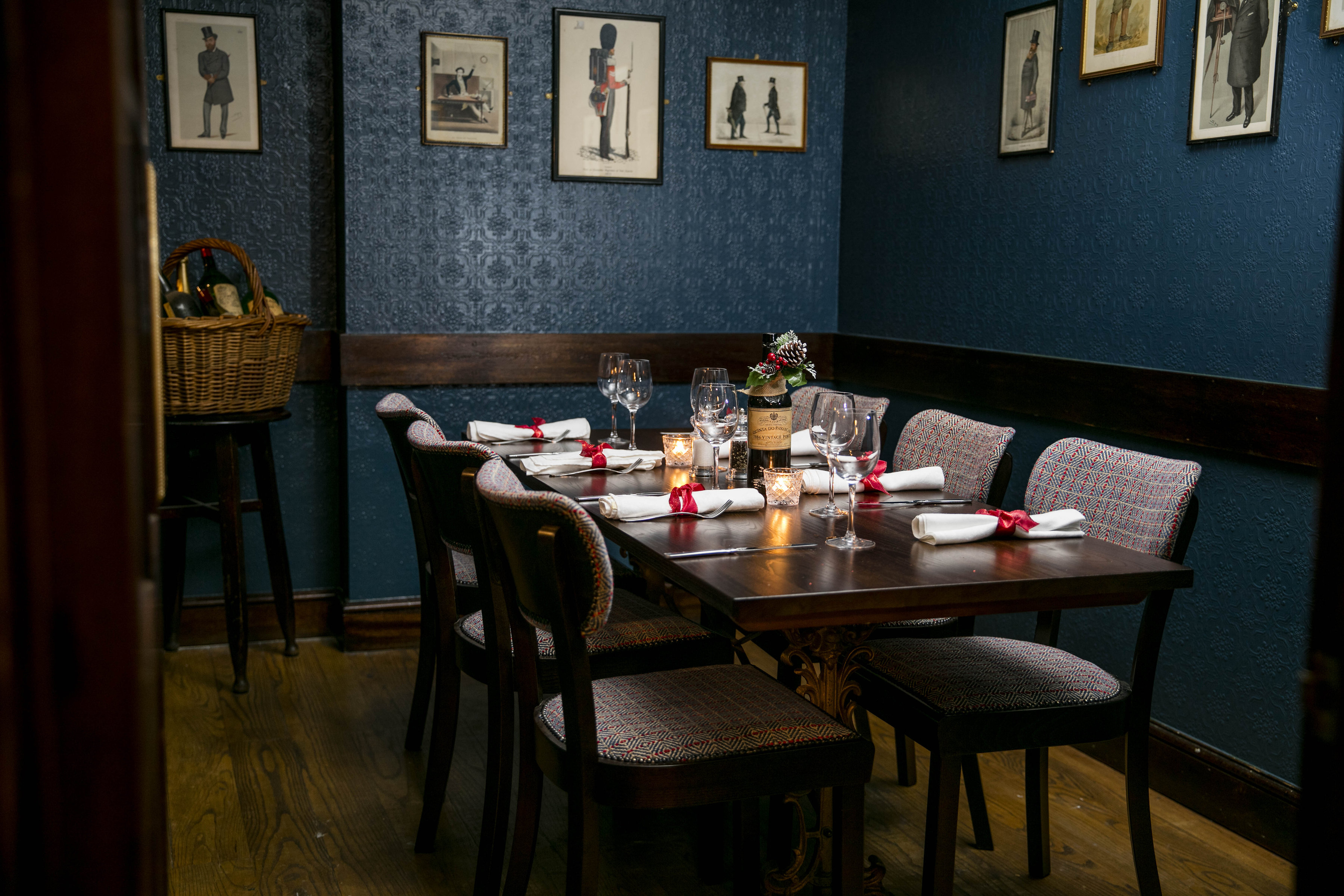 Image of City Boot's private dining room