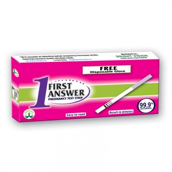 Bright Vision First Answer Pregnancy Test Strip Single