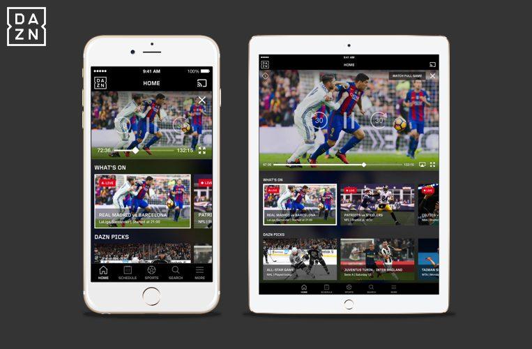 The Native iOS App Is Here | DAZN Media Center