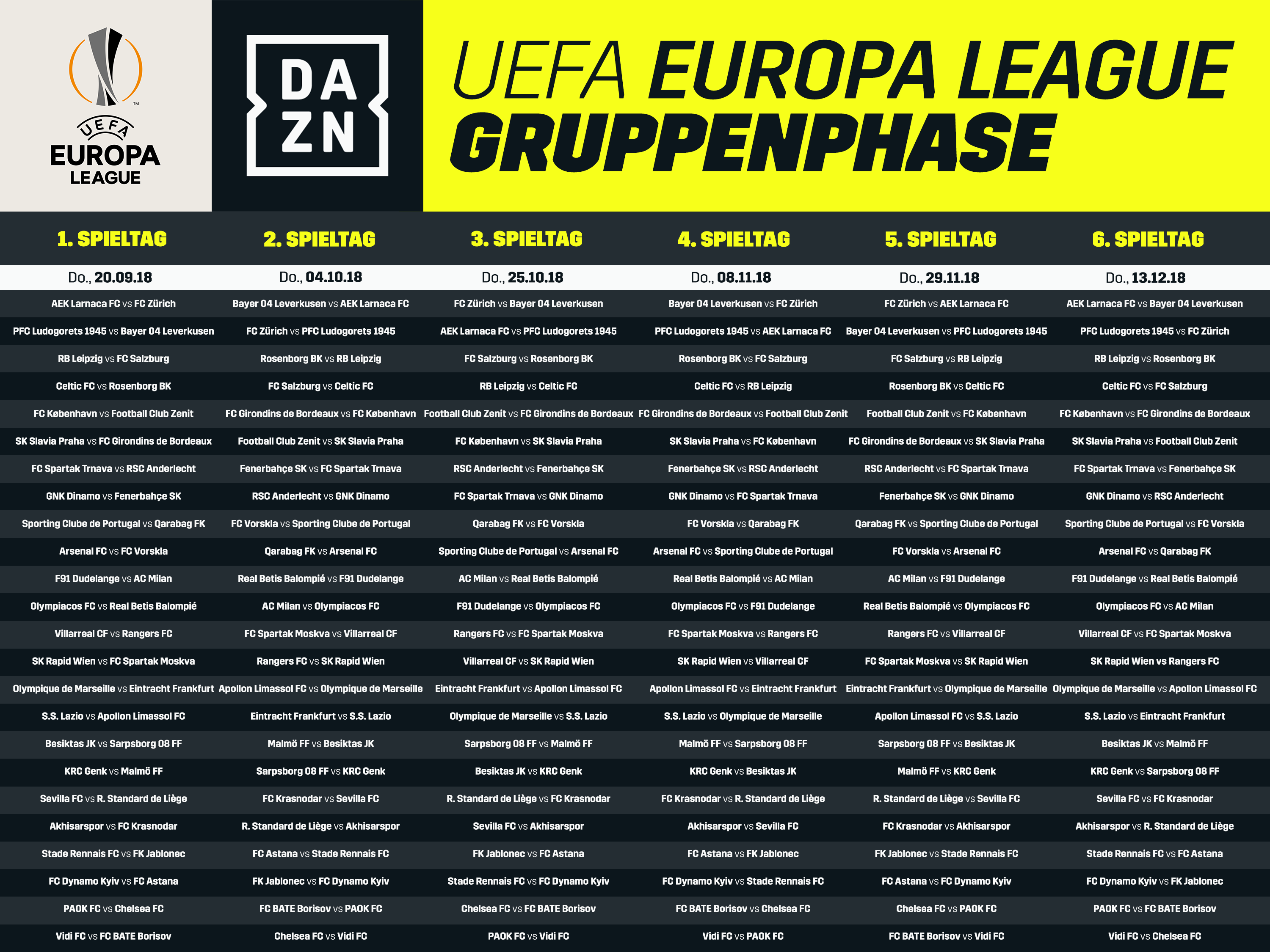 Uefa League Spielplan