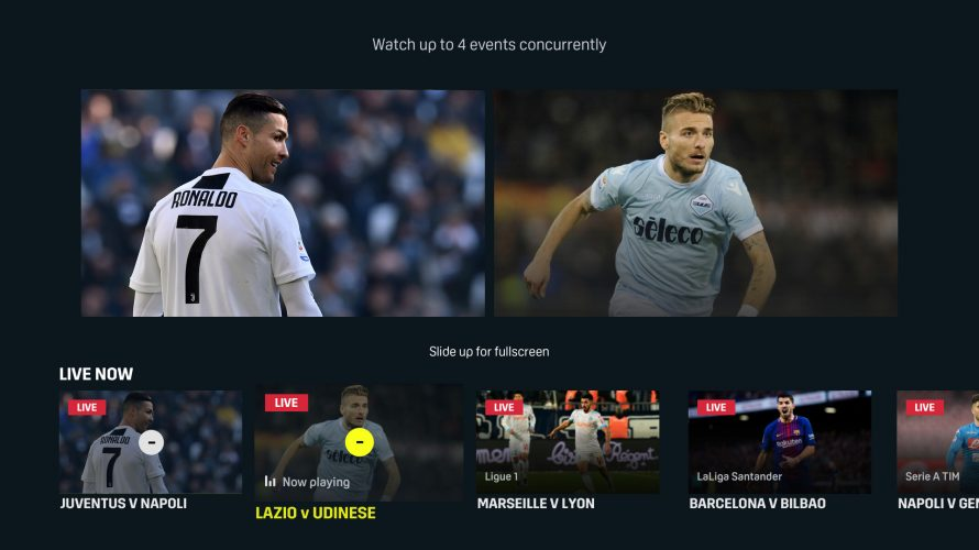 DAZN SWITCHES ON GAMECHANGING 'MULTIVIEW' FUNCTION | DAZN