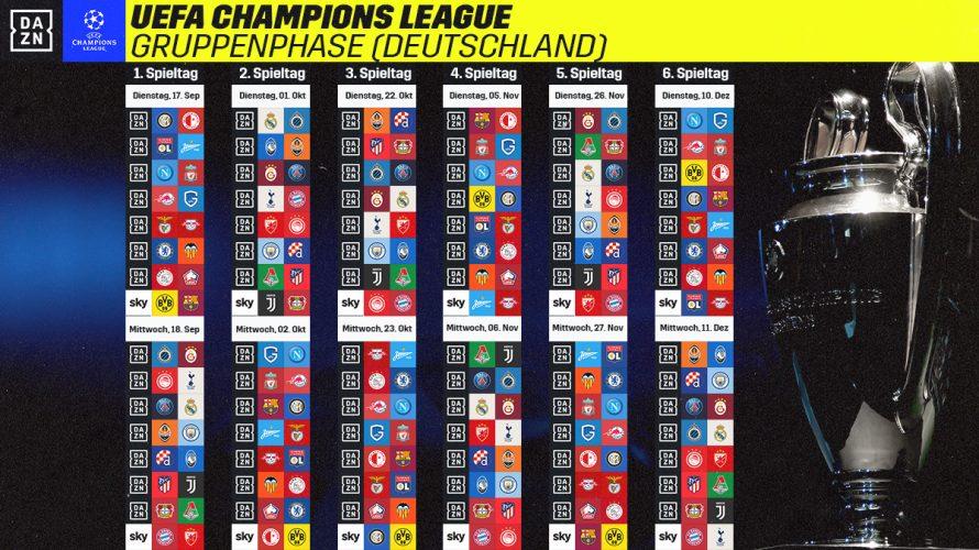 Champions League-Гјbertragung Im Fernsehen