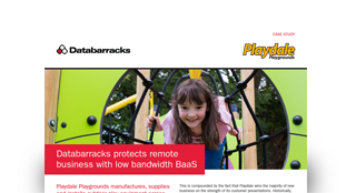Databarracks protects remote business with low bandwidth BaaS