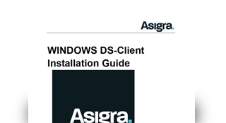 Asigra DS-Client Installation Guide - Windows