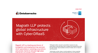 Magrath LLP protects global infrastructure with Cyber-DRaaS
