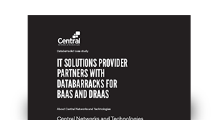 IT solutions provider partners with Databarracks for BaaS and DRaaS