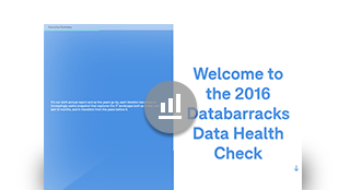 Data Health Check 2016 - Online Infographic