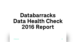 Data Health Check 2016 - Report