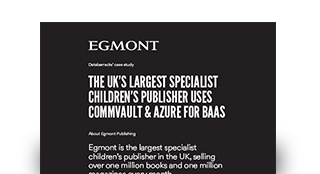 The UK's largest specialist children's publisher uses Commvault & Azure for BaaS