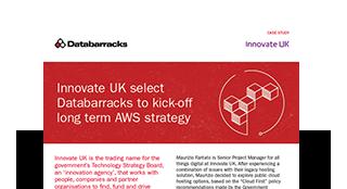 Innovate UK select Databarracks to kick-off long term AWS strategy