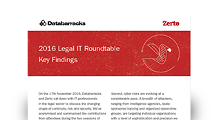 2016 Legal IT Roundtable: Key Findings