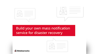 Build your own mass notification service for disaster recovery