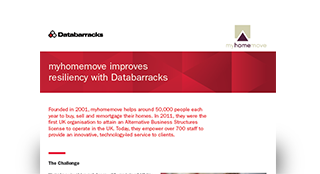 myhomemove improves resiliency with Databarracks and DRaaS