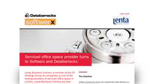 Databarracks and Softwerx protect serviced office space provider