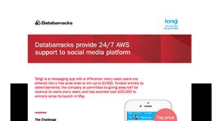 Databarracks provides 24/7 AWS support to social media platform
