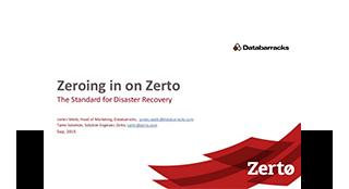 Zeroing in on Zerto