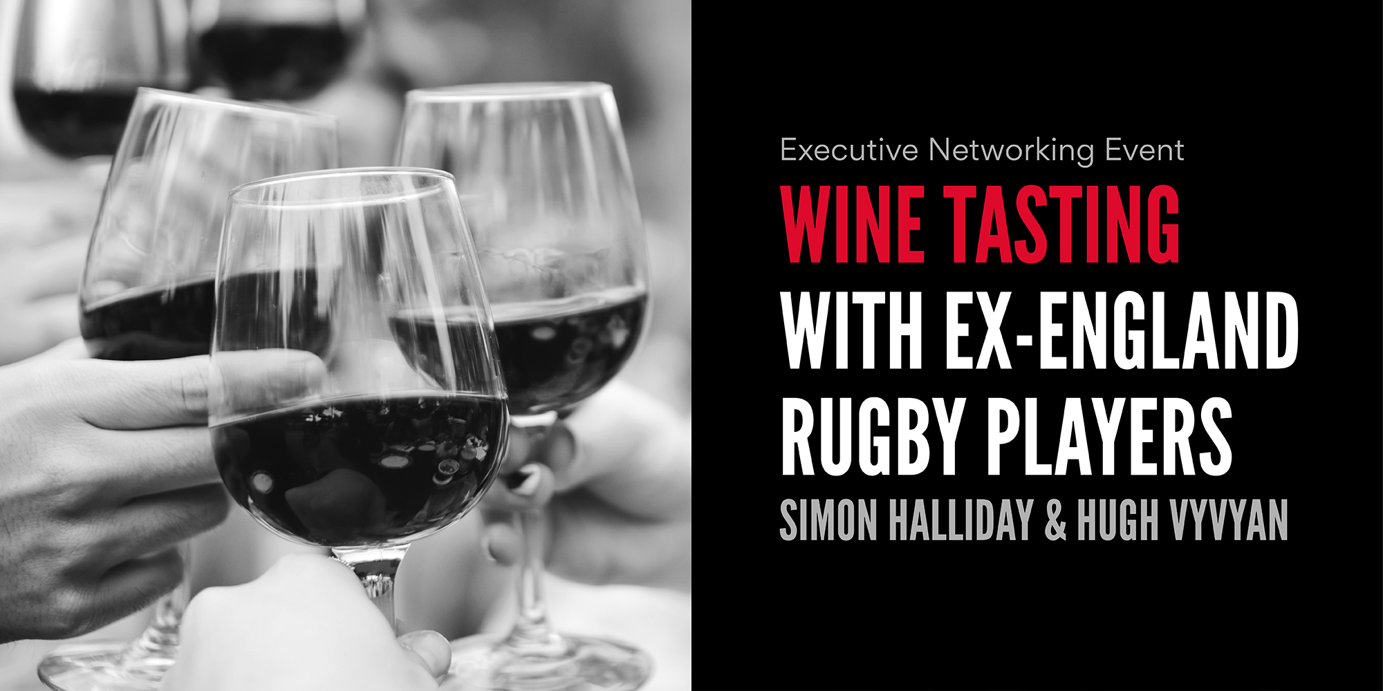 Wine tasting with ex-England Rugby Players