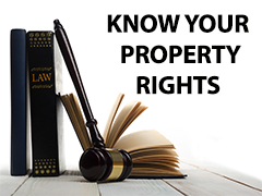 Know Your Property Rights