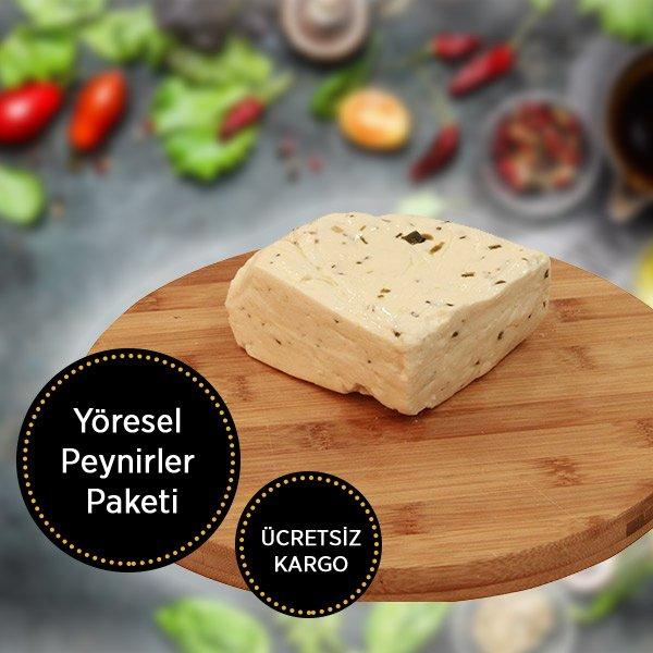 Yöresel Peynirler Paketi