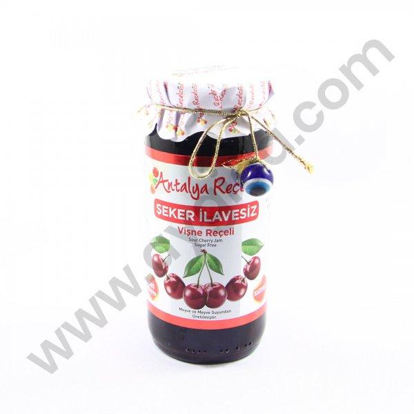Antalya Reçelcisi Şeker İlavesiz Vişne Reçeli 290gr