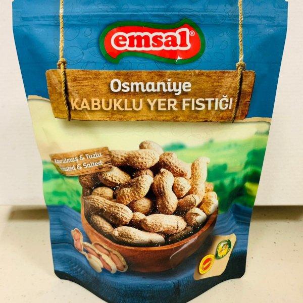Tuzlu Kavrulmuş <br/> Kabuklu Osmaniye <br/> Yer Fıstığı 250 G