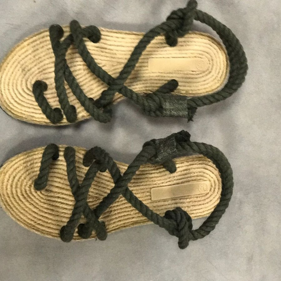 Liva F3 Haki Örgü Sandalet