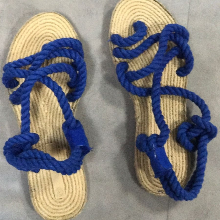 Liva F3 Saks Örgü Sandalet