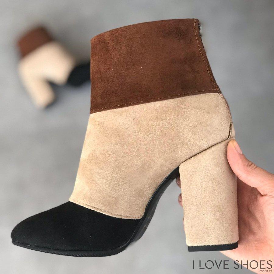 Vivien Ten Süet Ayakkabı