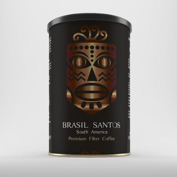 Filtre Kahve Brasil Santos