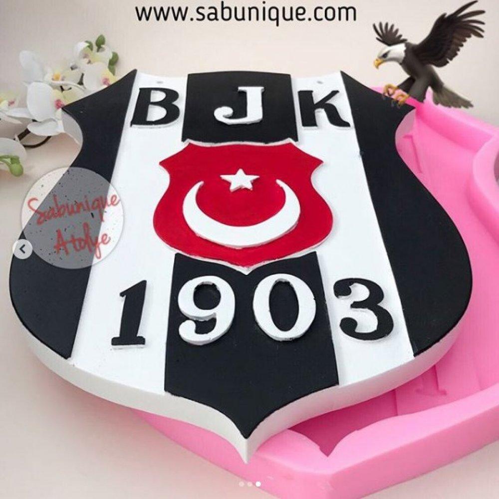 Beşiktaş Büyük Logo Silikon Kalıbı