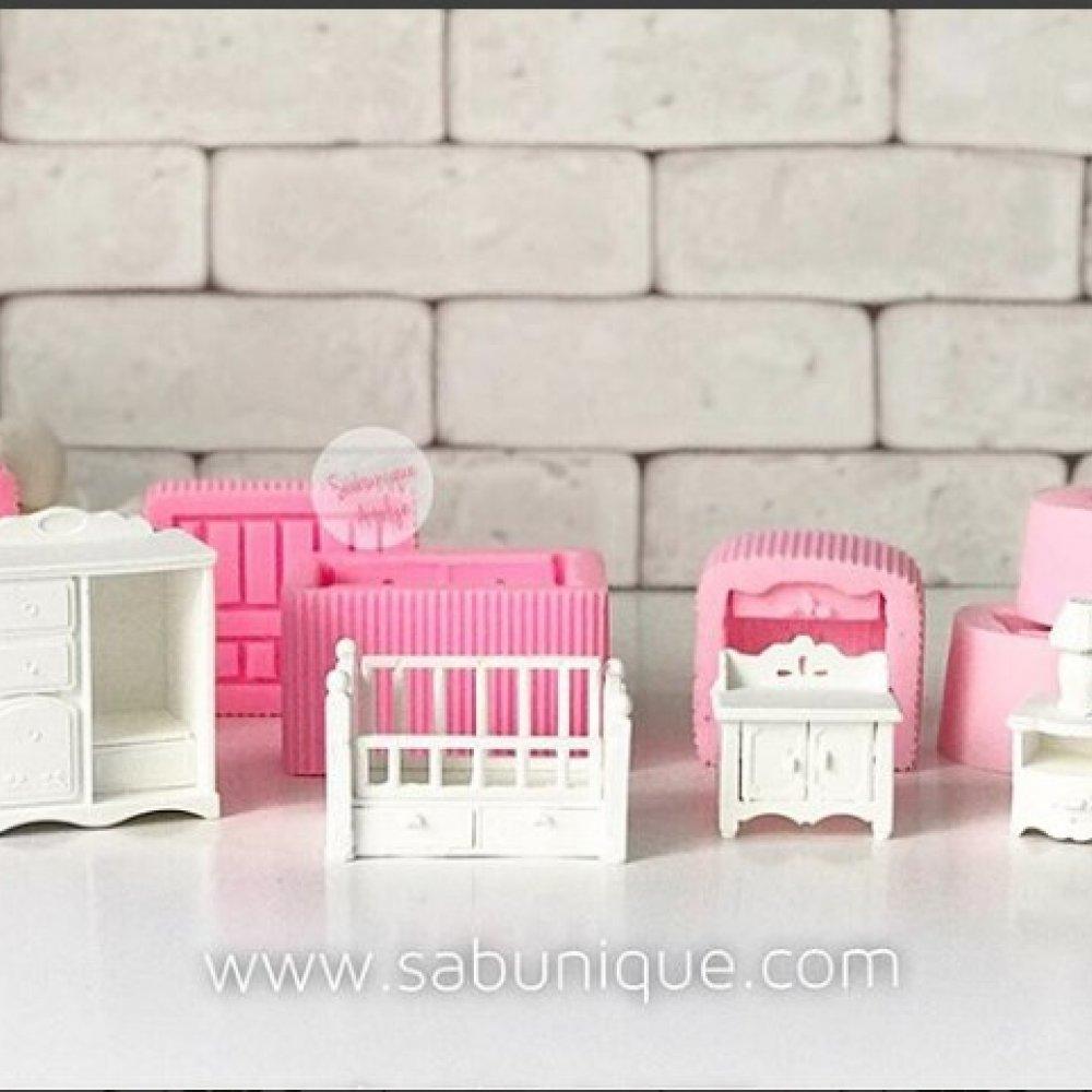 Bebek Odası Takımı Seti Silikon Kalıpları