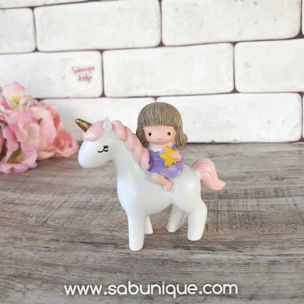 Unicornlu Kız Silikon Kalıbı