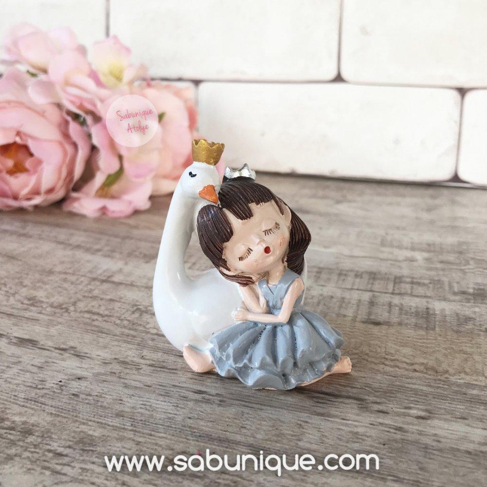 Kuğulu Prenses Silikon Kalıbı