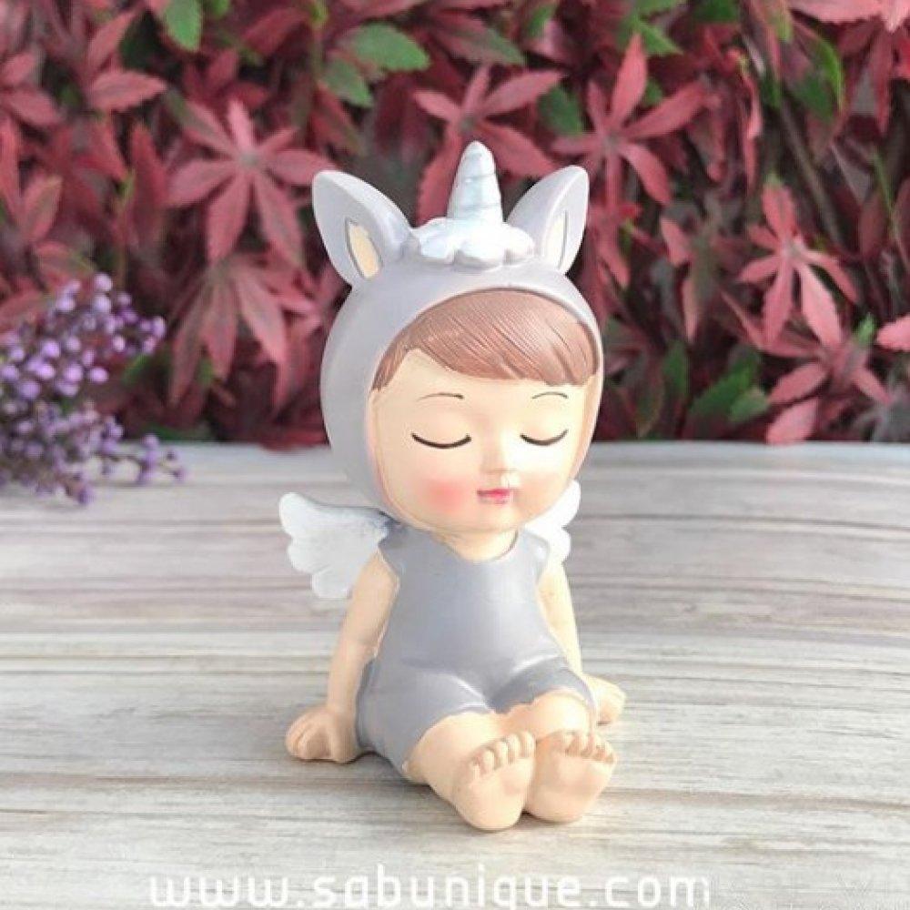 Tulumlu Unicorn  Bebek Silikon Kalıbı