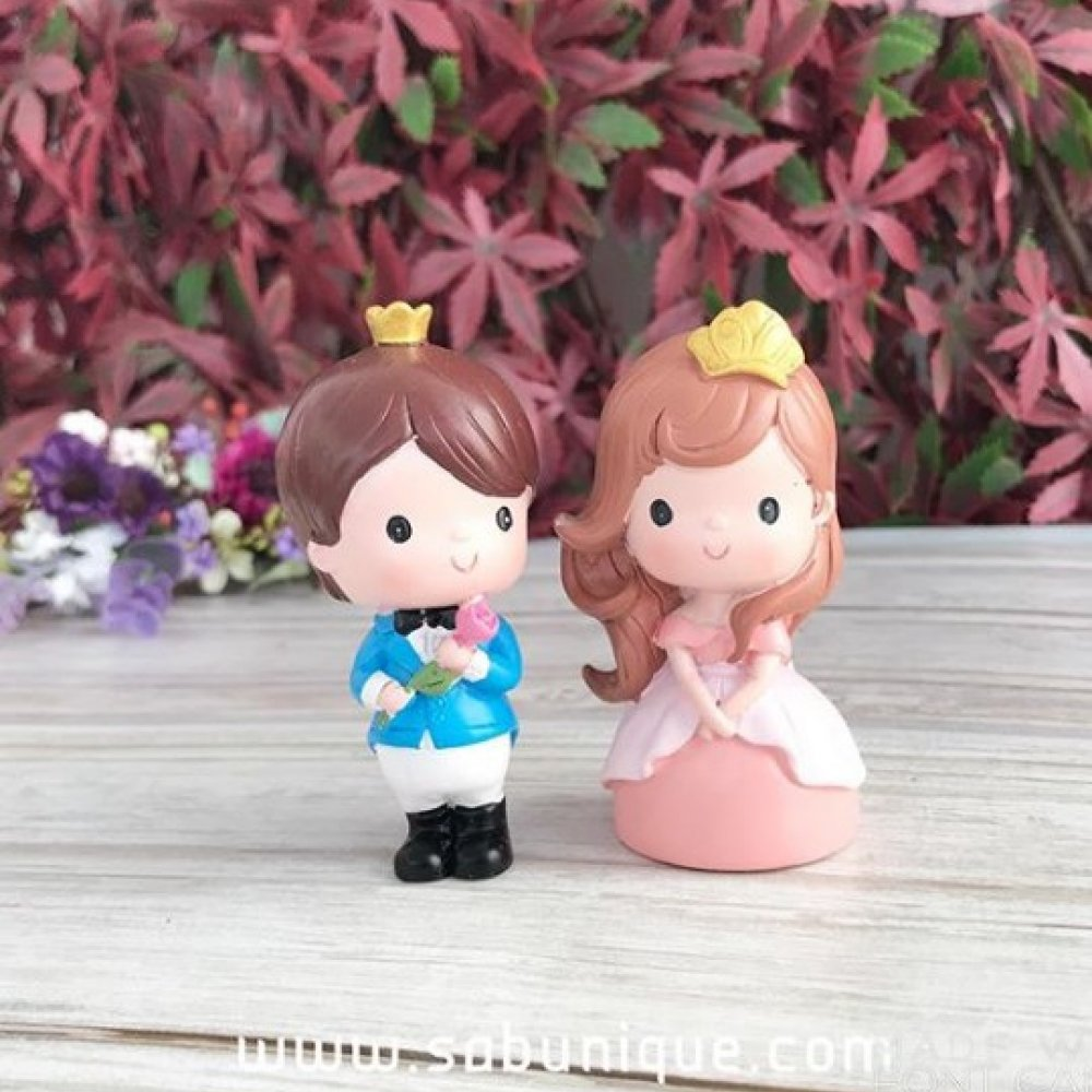 Küçük Prens Ve Prenses Silikon Kalıbı