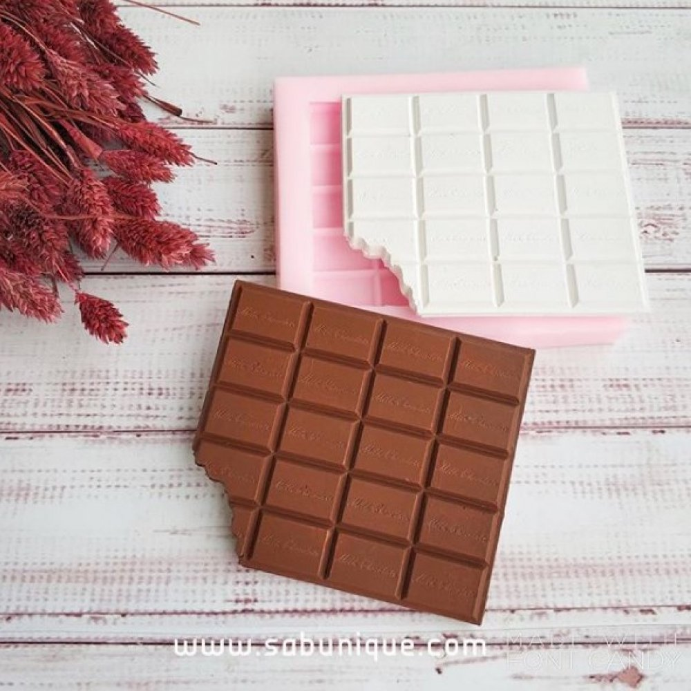 Büyük Çikolata Silikon Kalıbı