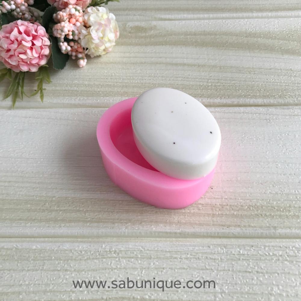 Oval Sabun Silikon Kalıbı
