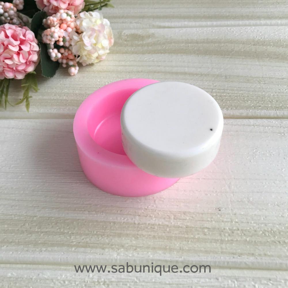 Yuvarlak Sabun Silikon Kalıbı