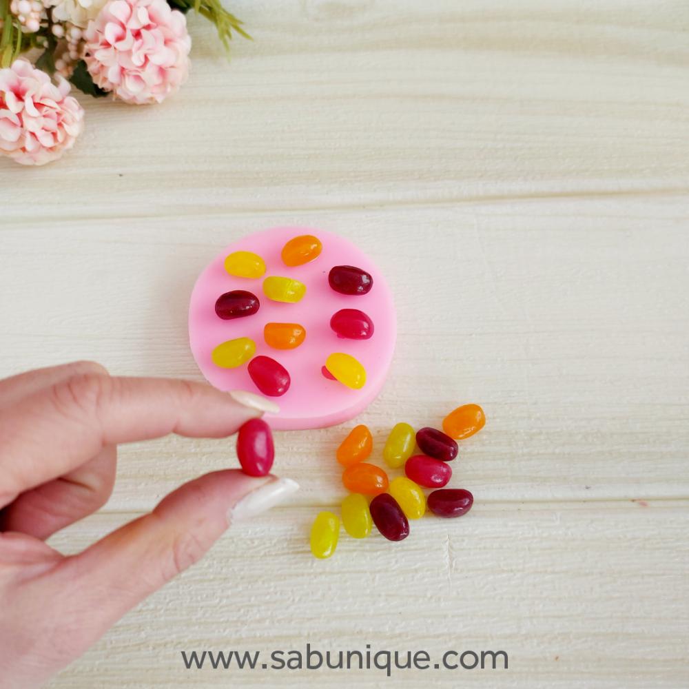 Çoklu Jelly Şekerleme Silikon Kalıbı