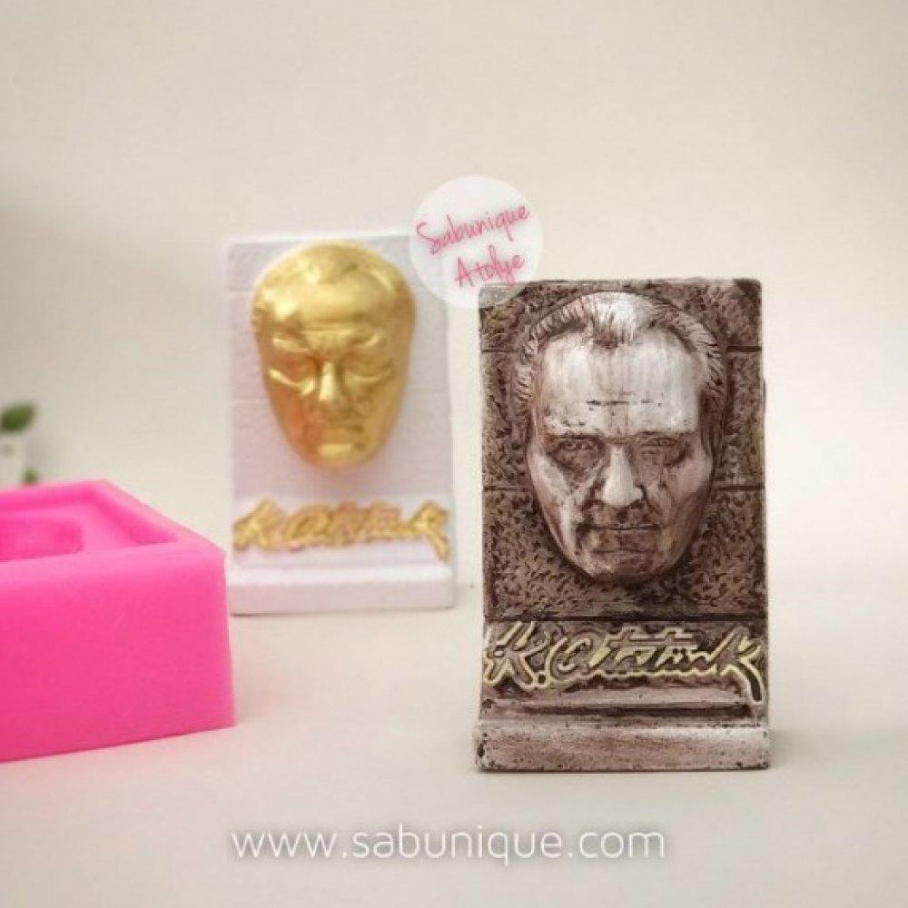 CS - Atatürk Büst Silikon Kalıbı
