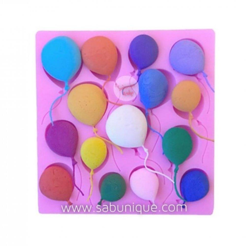 CS - Çoklu Yassı Form Balonlar Silikon Kalıbı