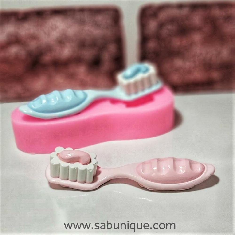 Diş Fırçası Silikon Kalıbı